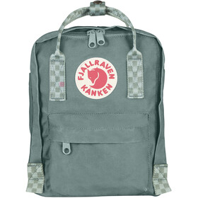 Fjällräven Kånken Mini Backpack frost green/chess pattern